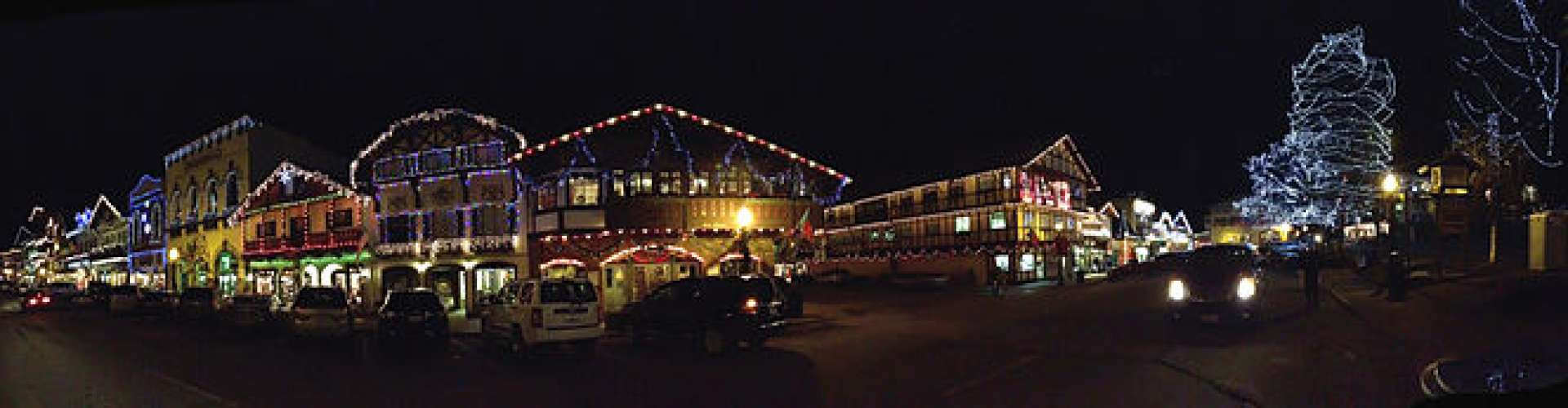 Leavenworth Christmas Lights.What Could Be Better Than The Leavenworth Christmas Lights